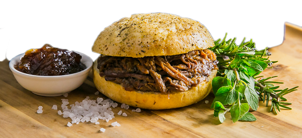 Shredded Beef Foccacia
